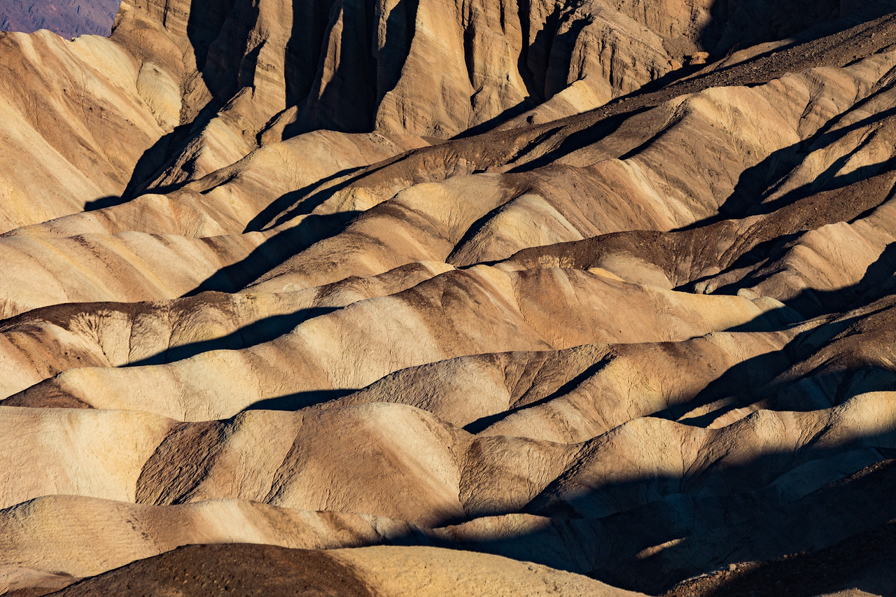 Early morning Colors at Zabriskie Point