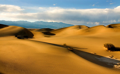 Mesquite Flat sand dunes at Death Valley National Park.