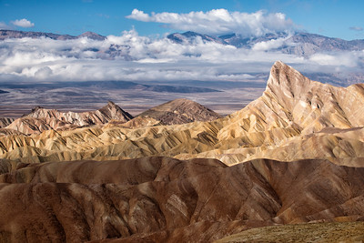Manly Beacon from the Zabriskie Point overlook