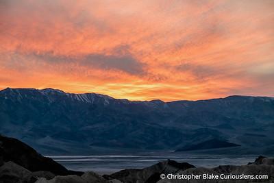 Zabriskie Point - Orange Sky