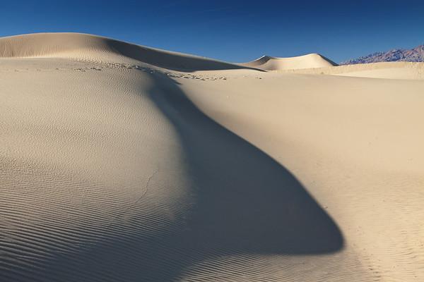 Into Mesquite Flat Sand Dunes