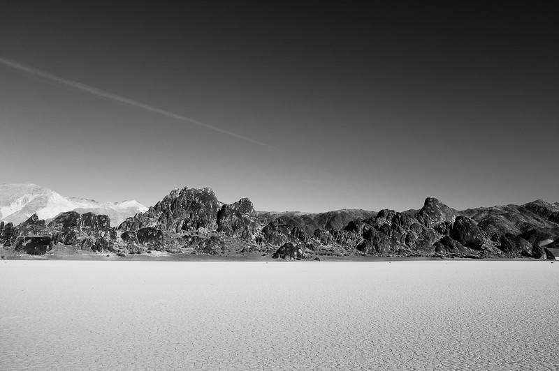 Grandstand at Racetrack Playa