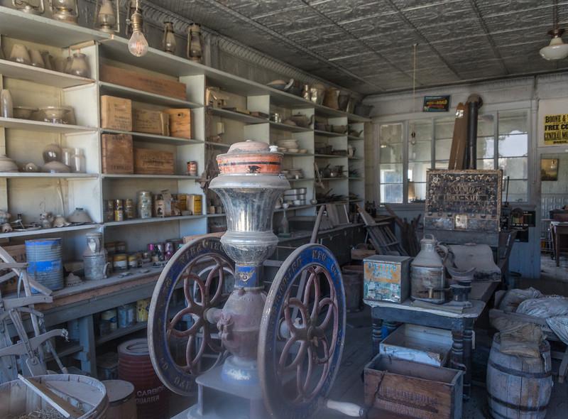Boone general store in Bodie, California