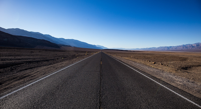 Road to Badwater Basin - Death Valley NP