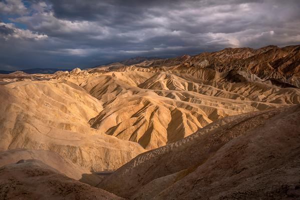 Zabriskie Point, South View, Death Valley National Park, CA