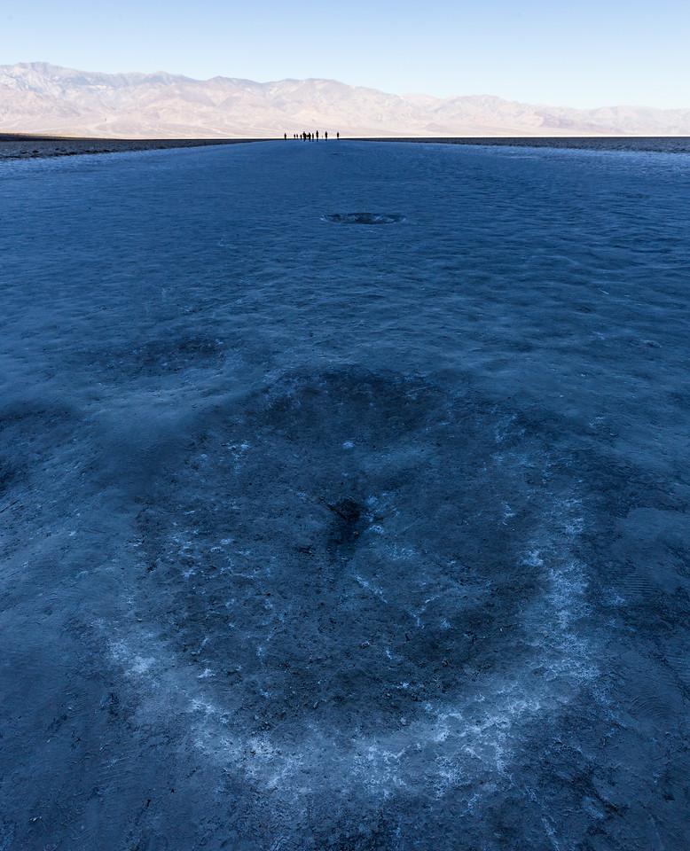 Salt Flats at Badwater Basin