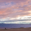 photographer and sand dunes