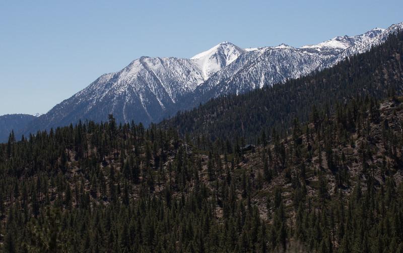 Eastern slope of the Sierra Nevada