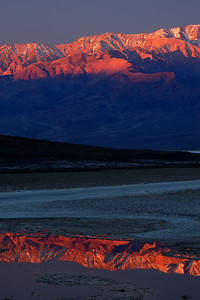 Dawn, Badwater Death Valley National Park California