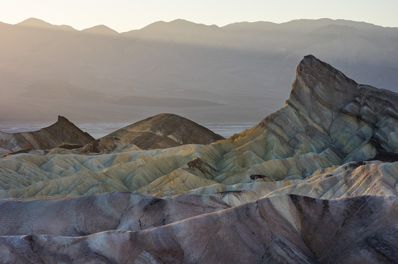 Late Afternoon Light at Zabriskie Point