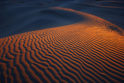 Sunrise, Mesquite Dunes Death Valley National Park California