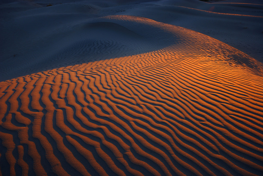 Sunrise, Mesquite Dunes Death Valley National Park California