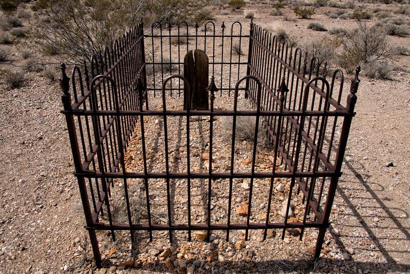 Rhyolite Cemetery
