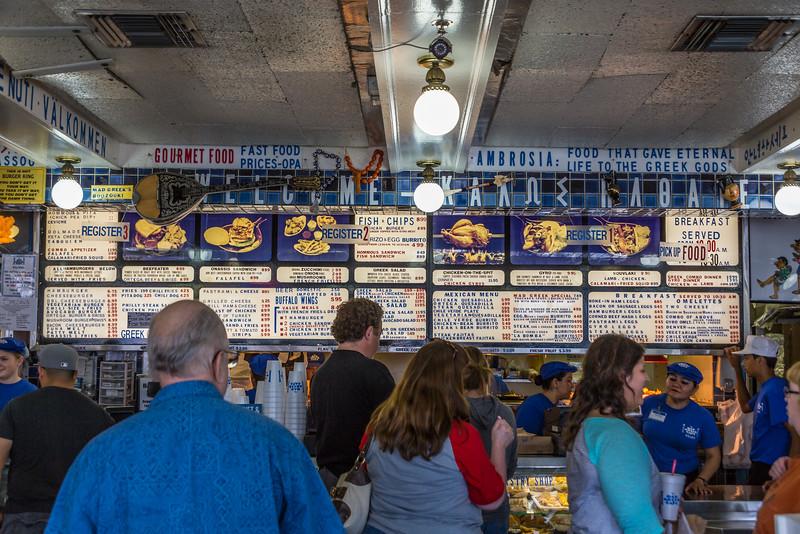 Mad Greek restaurant in Baker, California