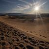 Sunrise at Mesquite Flat Sand Dunes-Death Valley