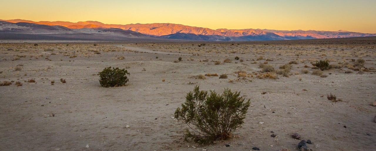 Eureka Valley at sunset
