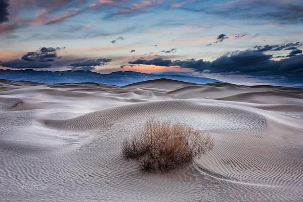 Sand Dunes Sunrise, Death Valley
