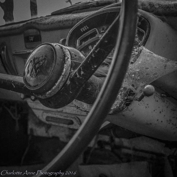 Vintage Abandoned Car Dorset