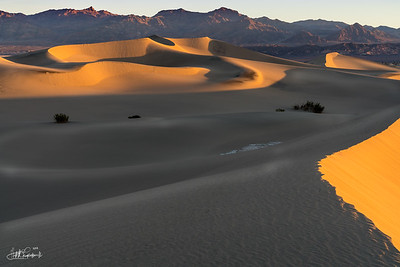 Sunrise - Mesquite Flat Sand Dunes - Death Valley, CA