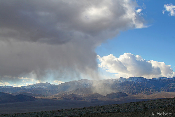 Weather at the opening of the Titus Canyon