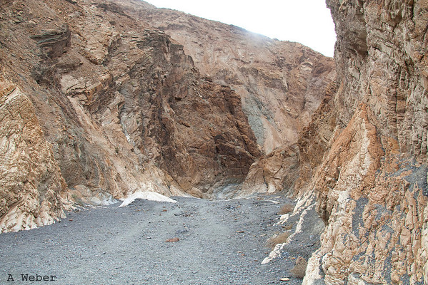 Mosaic Canyon narrows begin in Death Valley National Park