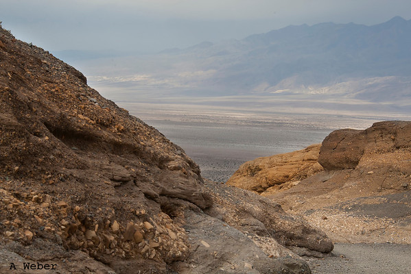 Coming out of Mosaic Canyon in Death Valley National Park