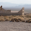 Ghost town of Ryolite in the Death Valley National Park