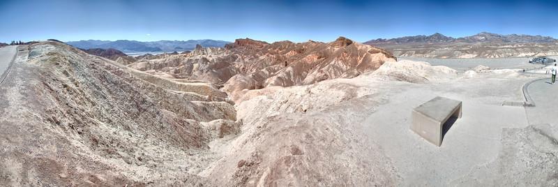 Zabriske Point, Death Valley National Park, California