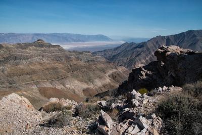 Aguereberry Point, Death Valley National Park, California)