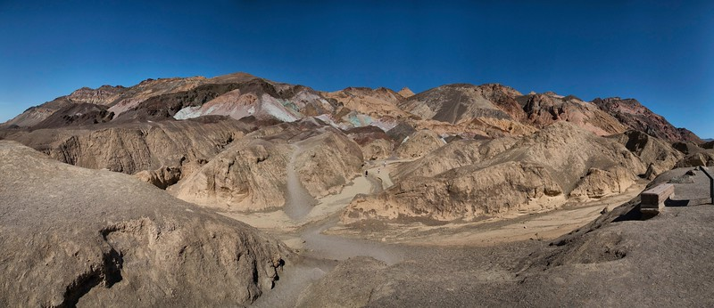 Painter's Palette, Death Valley National Park, California