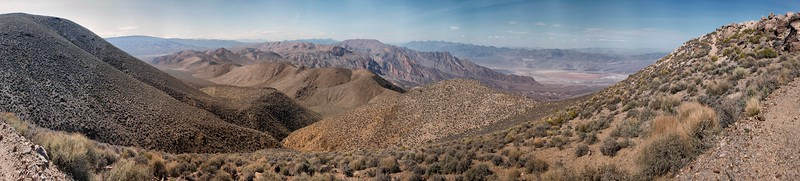 Aguereberry Point, Death Valley National Park, California)