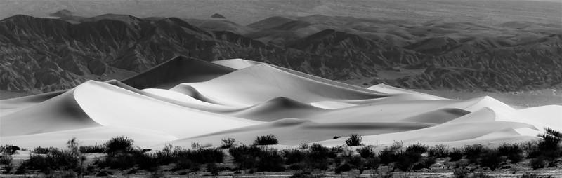 Mesquite Flat Sand Dunes Morning