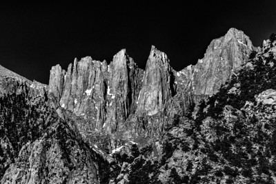 Mt Whitney and Spires