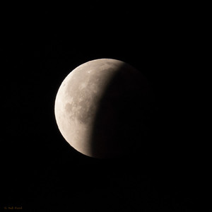 Lunar Eclipse: 6:37 am