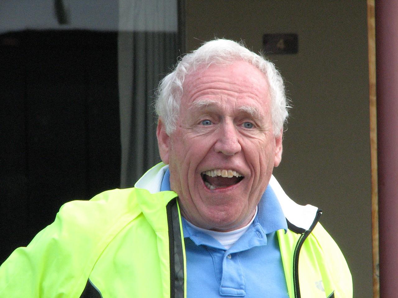 Bill Bernheim meets us in Crescent City