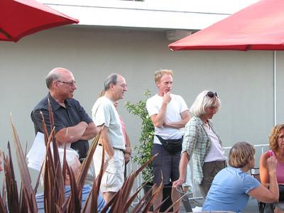 Rick Waters, Dan Barcellos, Ray Bryan, Carol Bourne