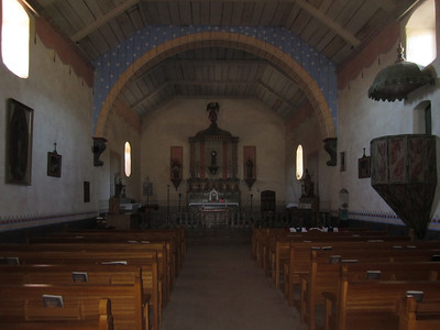 Mission San Antonio chapel.