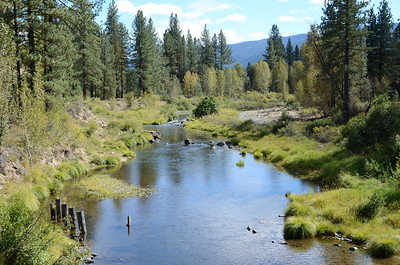 Middle Fork Feather River running through the Mohawk Valley