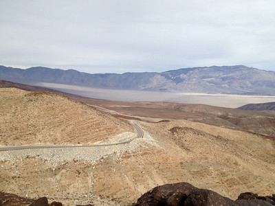 Descending into Panamint Valley