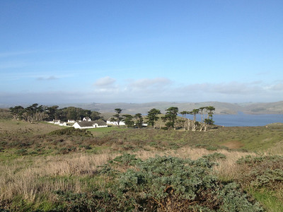 Pierce Point Ranch and Tomales Bay