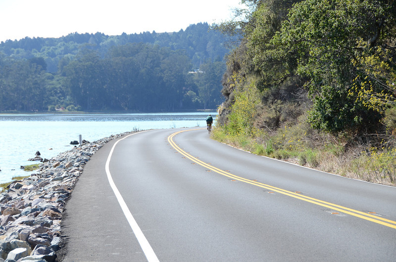 Hwy 1 along the Bolinas Lagoon