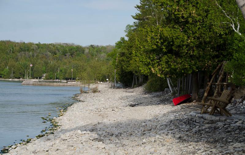 Shoreline near Gils Rock