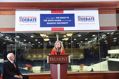 The Commission on Presidential Debates (CPD) announced today that Belmont University in Nashville, Tenn.—home of the 2008 Town Hall Presidential Debate—will again host a presidential debate on Thurs., Oct. 22, 2020