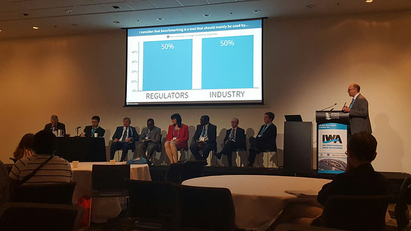 Debate on Regulatory KPIs at World Water Congress in Brisbane