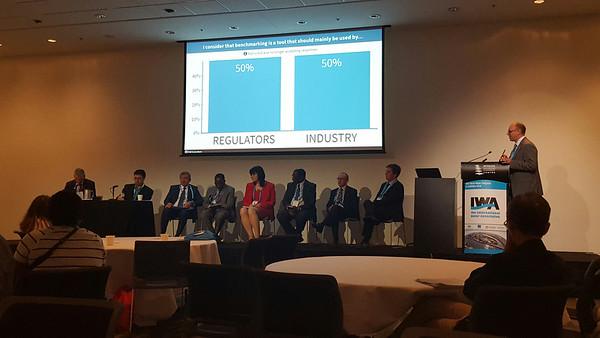 Debate on Regulatory KPIs at World Water Congress in Brisbane