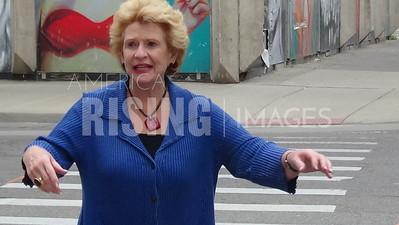 Debbie Stabenow At AFL-CIO Labor Day Parade In Detroit, MI
