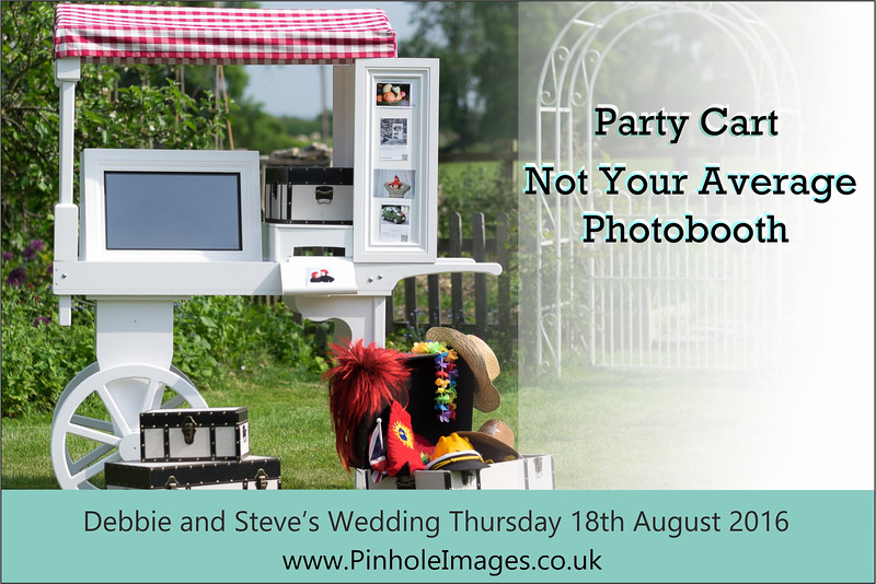 Debbie and Steve Party Cart Postcard