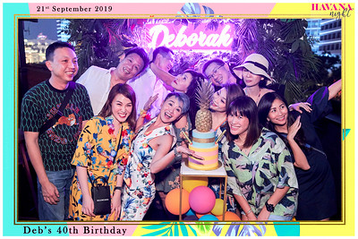 Deborah's 40th Birthday Celebrations | © www.SRSLYPhotobooth.sg