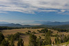 Looking South from the Rim towards Klamath Lake and if you look close, Mt Shasta