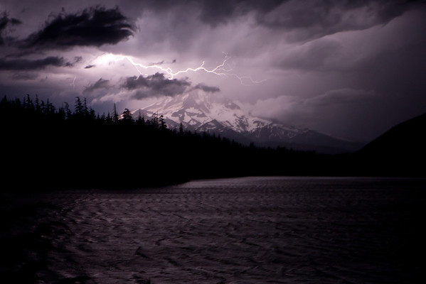 Lightning at Lost Lake